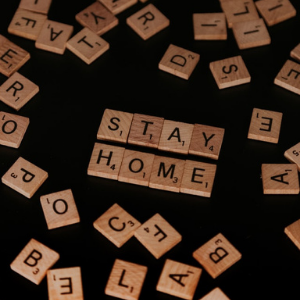 Scrabble blocks spell stay home - What We're Doing During the Pandemic - J Street Technology - Custom Web Application - 98004