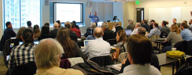 Armen Stein of J Street Technology speaks at Access Day