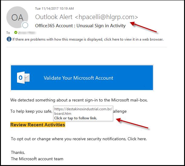 Phishing Alert - J Street Technology - Custom Web Application - 98004