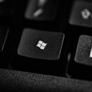 Picture of a windows key on a keyboard - The Microsoft Platform - J Street Technology - Custom Web Application - 98004